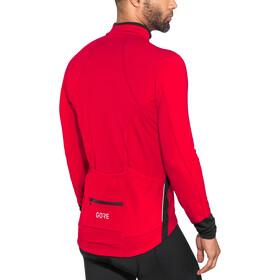 GORE WEAR C5 Maillot Térmico Hombre, red/black